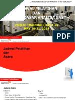 Dasar Dasar Analisa Gas (Day 1-2)
