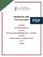 CON LOS OJOS CERRADOS resumen corto + opinion personal + mensaje.docx