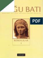Doğu Batı - 49 - Romalılar I.