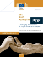 The 2018 Ageing Report ISSN 2443-8014 (online) Underlying Assumptions & Projection Methodologies INSTITUTIONAL PAPER 065 | NOVEMBER 2017