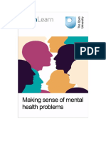 Making Sense of Mental Health Problems