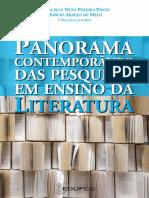 PANORAMA CONTEMPORÂNEO DAS PESQUISAS EM ENSINO DE LITERATURA_UFCG