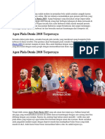 Agen Piala Dunia 2018 Terpercaya