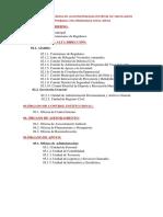Estructura Orgánica de La Municipalidad Distrital de Santa Anita Aprobada Con Ordenanza Nª011