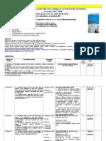 Sugestii Pentru Planificare La Disciplina Limba Și Literatura Română (1)