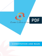 OCA Constitution and Rules