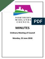 Northern Midlands June meeting minutes
