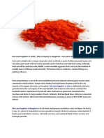 Red Lead Suppliers in India | alloy company in Bangalore - Ever shine Smelting Alloy Pvt Ltd