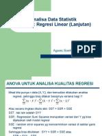 Analisa Data Statistik Lanjutan (1)