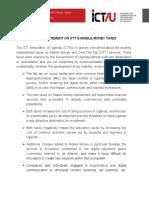 Public Statement on Ott & Mobile Money Taxes
