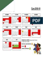 Calendari 2018-19 Dv