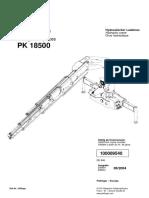 Manual Pluma PK18500 ECIM