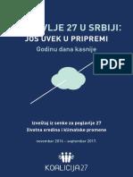 Koalicija 27 - Izveštaj Za Poglavlje 27 2017