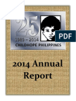 2014 Childhope Asia Philippines Annual Report