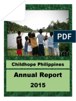 2015 Childhope Asia Philippines Annual Report