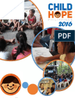 2016 Childhope Philippines Annual Report
