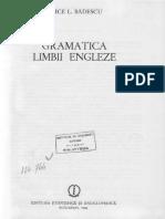 Alice Badescu, Gramatica Limbii Engleze