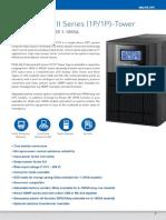 Proessional I Series (1P 1P) Tower PRO900 WS WL 1 10KVA