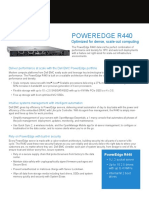 PowerEdge R440 Spec Sheet
