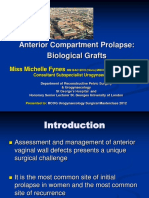 Anterior Compartment Prolapse