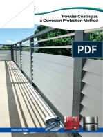 Powder Coating as a Corrosion Protection Method