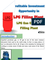 Profitable Investment Opportunity in LPG Filling Plant