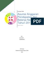 Tugas 2 - asumsi APBN 2011-2016.docx