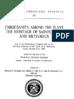Edward G. Farrugia, Robert F. Taft, Gino K. Piovesana eds Christianity among the Slavs. The heritage of Saints Cyril and Methodius. Acts of the Internatio.pdf