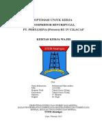 Kkw-tmk-III-optimasi Unjuk Kerja Kompresor Sentrifugal