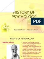 Beginnings of Experimental Psychology