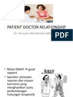 Doctor Patient Relationship Clinnical Skill