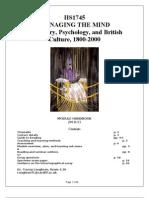 Loughran Cardiff History of Psychiatry Module