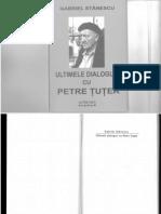Gabriel Stanescu Ultimele Dialoguri Cu Petre Tutea