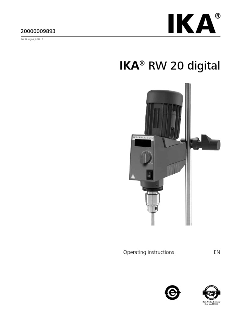 Ika rw 20 digital dual range mixers youtube.