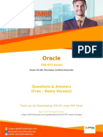 1Z0-071 Dumps - [2018] Learn How to Pass with Valid Oracle 1Z0-071 Exam Questions PDF