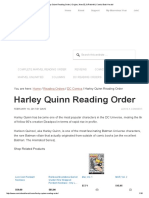 Harley Quinn Reading Order _ Origins, New 52, & Rebirth! _ Comic Book Herald
