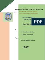 Informe 5 Ley de Gay Lussac