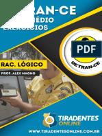 PDF Detran-ce Agentedetransito Raciociniologico Alexmagno Exercicios Medio Completo