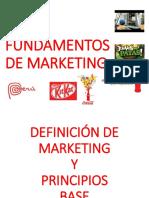 1. Definición de Marketing, Principios Base. Ventaja Diferencial (1)