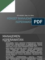 2. Konsep Manajemen Keperawatan New