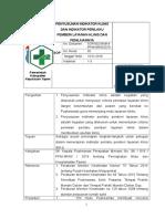 9.1.2.3 Sop Penyusunan Indikator Klinis Dan Indikator Perilaku Pemberi Layanan Klinis Dan Penilaiannya (002)