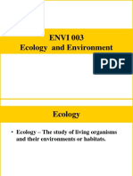Ecology for 2011