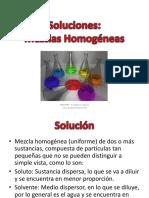 TEORIA DE SOLUCIONES