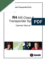 7000 108-131,K,Operator Manual R4 AIS Shipborne Class a Transponder System