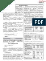 Dan por concluidas designaciones aceptan renuncias y designan Subprefectos Provinciales y Distritales