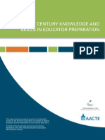 AACTE-P21 White Paper vFINAL 21st Century