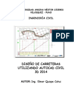 Manual de Autocad Civil 3d 2014
