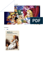 Alice No Pais Das Maravilhas PERSONAGENS