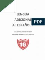 Ingles I (Cuadernillo de Ejercicios de La Materia Lengua Adional Al Espanol I)