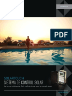 SolarTouch Control System Spanish